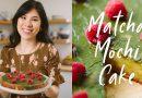 Bakery vs Homemade MATCHA MOCHI CAKE