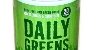 VEGAN SuperFood DAILY GREENS – 100% Organic Powder Gluten Free Food