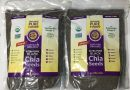 Lot of (2) Organics pure foods Ultra-Pure black Chia Seeds 6 Lbs. kosher, Vegan