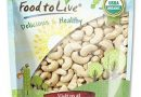 Food to Live Certified Organic Cashews W-240 (Whole, Raw) (8 Ounces)