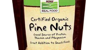 Pine Nuts Organic 8 oz, Now Foods, Snack Food