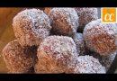 4 Ingredient, organic, healthy no-bake cookies.  Make 2 dozen in less than 10 minutes!