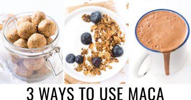 HOW TO USE MACA POWDER | 3 healthy recipes