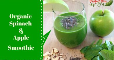 Organic Apple & Spinach Green Smoothie