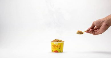 SNACK SIMPLE  – DELICIOUS ORGANIC ONE MINUTE MUFFIN – READY IN 60 SECONDES