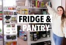 FRIDGE & PANTRY TOUR 2019! What I eat in a week/ How I organize my fridge