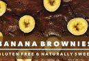 Chocolate Banana Brownies Recipe | Gluten Free & Naturally Sweet – Create Cooking Challenge