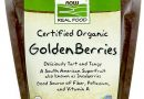 Now Foods – Real Food, Certified Organic Golden Berries, 8 oz (227 g)