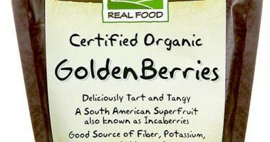Now Foods – Real Food, Certified Organic Golden Berries, 8 oz (227 g)
