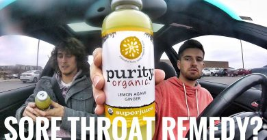 Road Trip Snack Reviews: Purity Organic Lemon Agave Ginger Superjuice