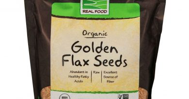 NOW Foods Golden Flax Seeds, Organic, 2 lbs.