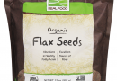 Brown Flax Seeds, Organic Now Foods 2 lbs Seeds