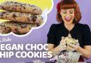 How To Bake Big Vegan Choc Chip Cookies | Bake Vegan Stuff with Sara Kidd