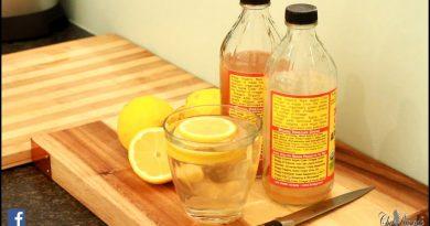 Flat Tummy With Apple Cider Vinegar Lemon Honey Water | Recipes By Chef Ricardo