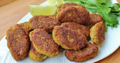 Red Lentil Kebab Recipe (Gluten-free & Dairy-free) | Vegan Kebab Recipe | Vegetable Kebab Recipe
