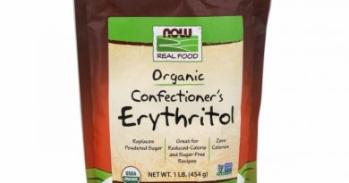 Organic Confectioner's Erythritol 1 lb by Now Foods