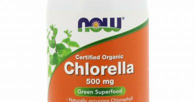 Now Foods Certified Organic Chlorella 500 mg 200 Tablets GMP Quality Assured,