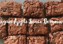 Vegan apple sauce chocolate brownies – Cooking with Penny!