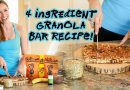 4 Ingredient Granola Bar Recipe | Healthy Snack | Nuts.com