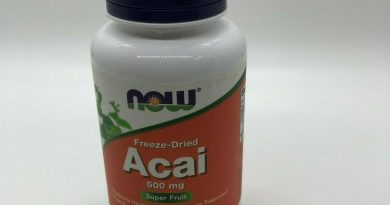 Now Foods ACAI Organic Super Fruit 500 mg, 100 Vcaps IMMUNE SUPPORT