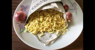 Masala Mandakki | Khara Puri | Crispy masale mandakki puri | Karnataka snacks