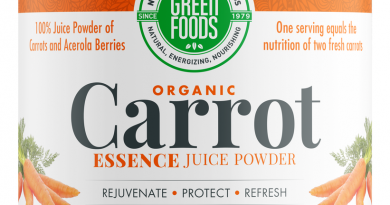 Organic Carrot Essence Green Foods 5.3 oz Powder