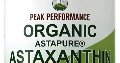 Peak Performance Organic Vitamin A Raw Whole Food Vegan Capsules High Potency