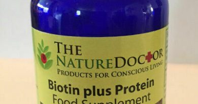 Whole Food Organic Biotin plus Protein Supplement by Matrix Nutrients