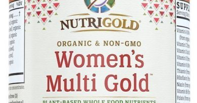 NutriGold Organic Whole-Food Women's Multi Vitamin Gold 90 Veggie Capsules