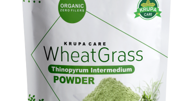 Krupacare Organic Wheatgrass Powder , Super food, Green Wheat Grass 8,16 Oz