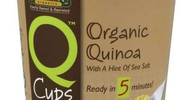Q Cups Organic Quinoa Ellyndale Foods 2 oz Container