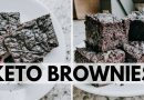 Keto Brownie Recipe | TASTES LIKE REAL BROWNIES! | Fudgy Almond Flour Brownies