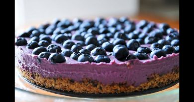 Organic Blueberry Pie. Flourless, Eggless, Huck's Cafe. Huck's Mountains Notes.