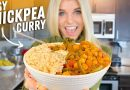 Easy Vegan Chickpea Curry Recipe That Anyone Can Make