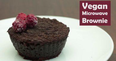 How To Make A Vegan Microwave Brownie