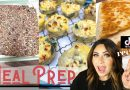 WW MEAL PREP FOR WEIGHT LOSS – TIK TOK LUNCH HACK – FRITTATAS- HEALTHY GRANOLA BARS -WEIGHT WATCHERS
