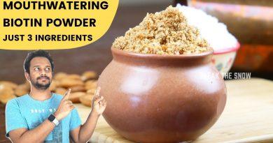 Real Biotin Powder With Real Ingredients for Hair Growth & Skin Glow (Just 3 Ingredients)