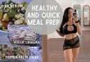 SIMPLE HEALTHY MEAL PREP || protein pasta salad + vegan lasagna + more