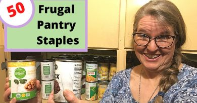 50 Extremely Frugal Foods Everyone Needs in Their Pantry