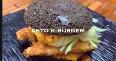 KETO K BURGER MCDO INSPIRED