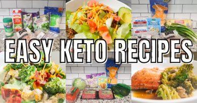 EASY KETO MEALS ON A BUDGET | KETO RECIPES FOR THE FAMILY  |  LOW CARB RECIPES