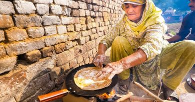 Village Food in Pakistan – BIG PAKISTANI BREAKFAST in Rural Punjab, Pakistan!