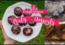 Easy and Vegan Party Desserts – Slutty Brownies, Cookies, and More!