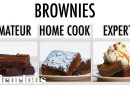 4 Levels of Brownies: Amateur to Food Scientist   Epicurious