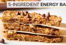 ENERGY BARS  |  easy, healthy 5-ingredient recipe